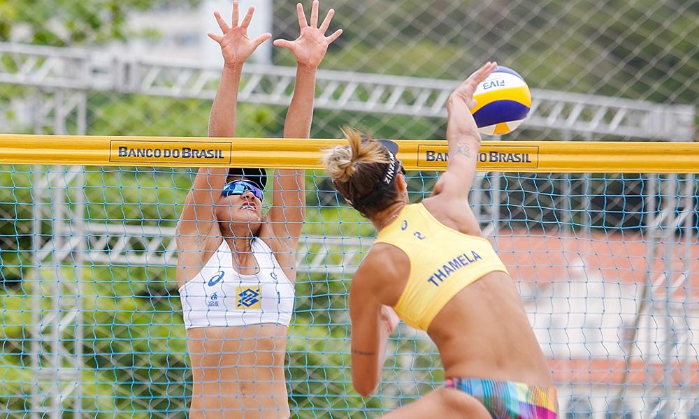Thamela Elize Thamela/Elize Circuito Brasileiro de Vôlei de Praia segunda etapa