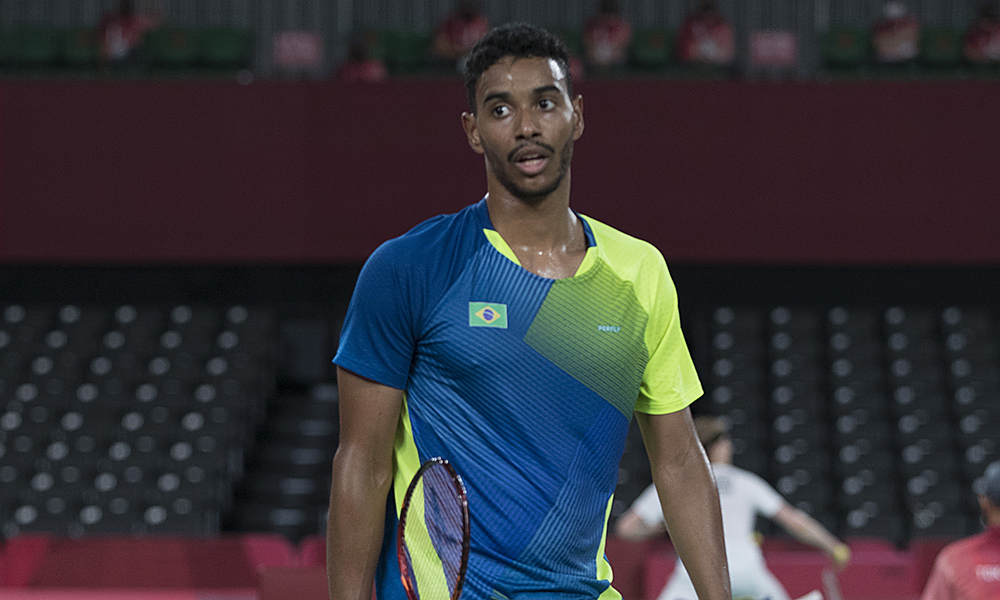 Ygor Coelho badminton Jogos Olímpicos de Tóquio-2020 estreia Aberto da França